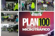 Policía Nacional presentó hoy en Sucre el 'Plan 100 contra el micro tráfico'