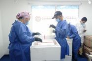 Las vacunas serán  distribuidas en varios municipios.