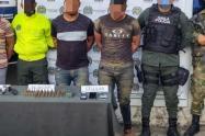 Capturados presuntos  autores del homicidio  de  policías en Guaranda,Sucre