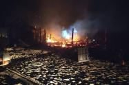 Incendios en Cartagena