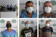 Capturados cinco presuntos integrantes de ´Los Displays¨ en Sincelejo