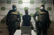 La captura se dio por uniformados del CAI Los Almendros