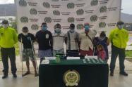 Este grupo delincuela era conocido como 'Los Herreros'