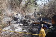 Los organismos de socorro activaron las alertas, por un incendio forestal y cercanía a tubería de ecopetrol, lo que fue controlada