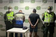 Uno de los capturados responde a lo nombre de Víctor Andrés Botto Maldonado