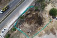 Perforación de oleoducto en Cartagena