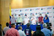 Gobernador de Sucre anunció inversiones para contrarestar pandemia del Covid 19 en Sucre