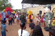 Grupo de Protección a la Infancia y Adolescencia de la Policía de Bolívar