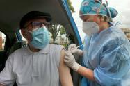 Auto servicio de vacunación
