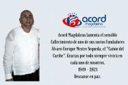 Durante varios años estuvo vinculado a RCN Radio Santa Marta