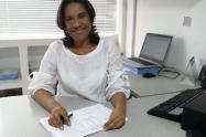 Secretaria de Educación encargada Doris Arrieta