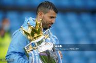 Sergio Agüero se despide del Manchester City