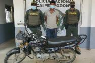 Señalado del robo de varias motos