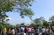Bloqueos en el municipio de Turbaco