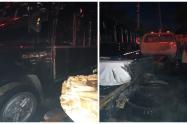 Tres vehículos más resultaron afectados