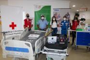 El centro asistencial recibió apoyo para sobre llevar la emergencia por el Covid-19