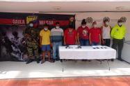 """En una operación conjunta, la fuerza publica captura 21 miembros de la banda """"Los Costeños"""""""