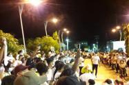 Protesta en Arjona Bolívar
