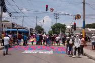 Manifestaciones en Barranquilla