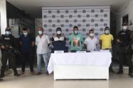 Capturados seis presuntos integrantes del Clan del Golfo en la región del San Jorge