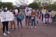 Mujeres Wayuu pidieron justicia por feminicidios