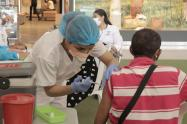 Población de 60 a 64 años muestran poco interés en vacunarse
