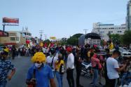 Movilizaciones en Cartagena por Paro Nacional