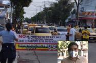 Taxistas piden renuncia de Janer Galván, director del DATT