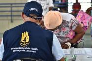 Gestión del Riesgo atiende a damnificados en Cartagena