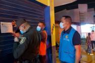 Operativos de control por toque de queda en Cartagena