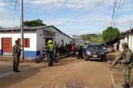 Alteración de orden público en Manaure, Cesar.