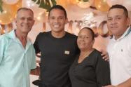 Familia de Carlos Bacca