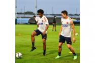 Entrenamientos de la Selección Colombia previo al partido contra Argentina.