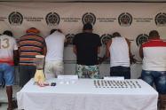 desarticulada la banda delincuencial los milagrosos en Ciénaga