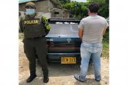El vehículo estaba siendo usado como colectivo ilegal