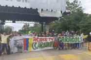 Protestas en peajes