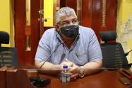 Concejal Oscar Marín, proponente de moción de censura a Armando Córdoba