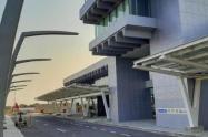 Fachada Aeropuerto Ernesto Cortissoz.
