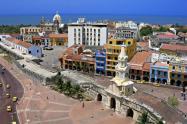 Panóramica de Cartagena, Centro Histórico