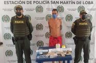 Tenía 30 dosis de base de coca, 20 de marihuana tipo creepy y $911.000 pesos