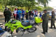 Toma masiva en Magangué contra la delincuencia