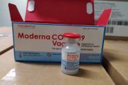 Cartagena recibió vacunas Modernas contra covid-19