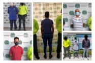 Once personas capturadas por delitos sexuales y violencia intrafamiliar en Sucre