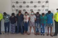 22 integrantes de estos grupos delictivos fueron capturados