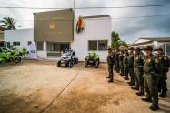 Entregan nueva subestación de policía para garantizar la seguridad en Barú, zona insular de Cartagena