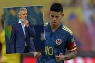 Reinaldo Rueda, Selección Colombia, James Rodríguez
