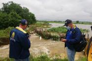Gobierno departamental atiende emergencia en Caimito(Sucre) , a raíz de inundaciones