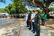 El evento estuvo liderado por el comandante del Departamento de Policía Cesar, coronel Douglas Alejandro Restrepo.