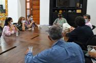 Reunión con la Fundación Gabo y la Universidad Nacional para viabilizar el proyecto