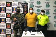 Jairo Alfonso Serpa Salazar, fue capturado tras encontrarle en su vivienda armas y municiones